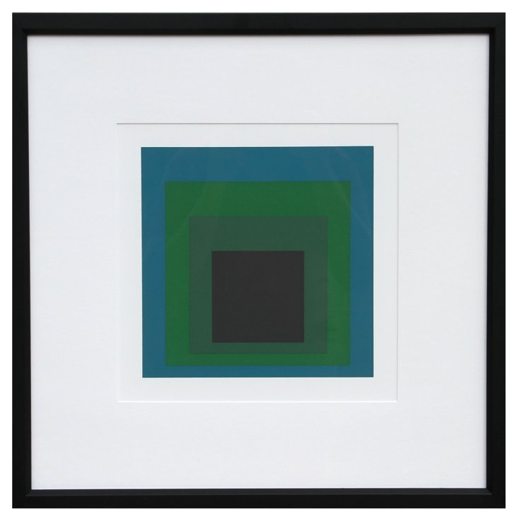 Albers, Homage to the Square, Silkscreen