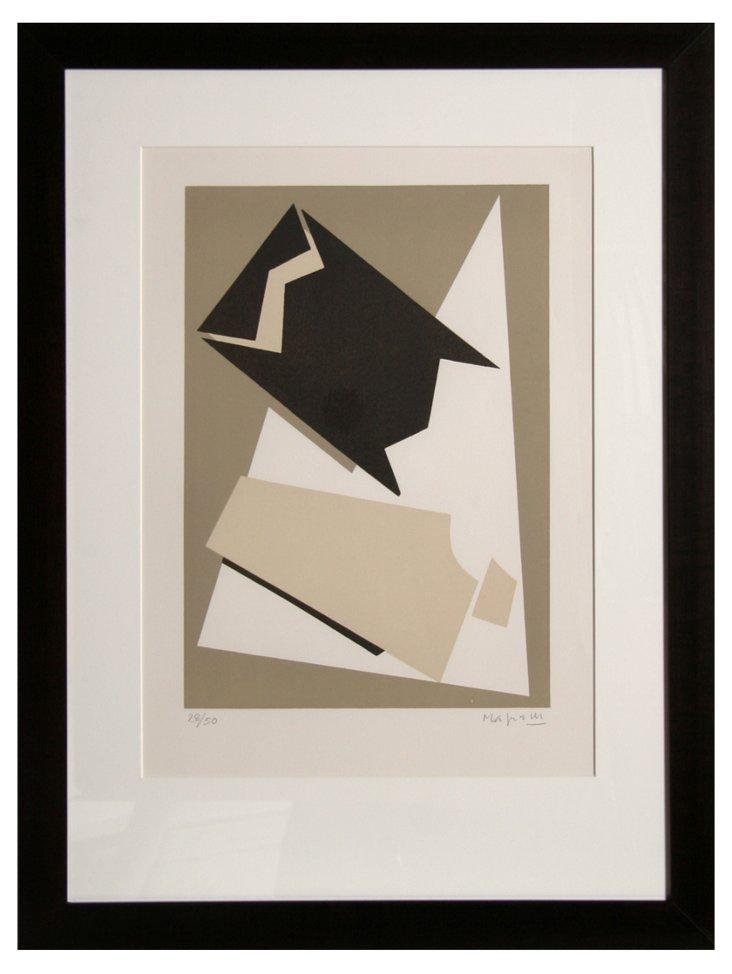 A. Magnelli, Composition, Lithograph
