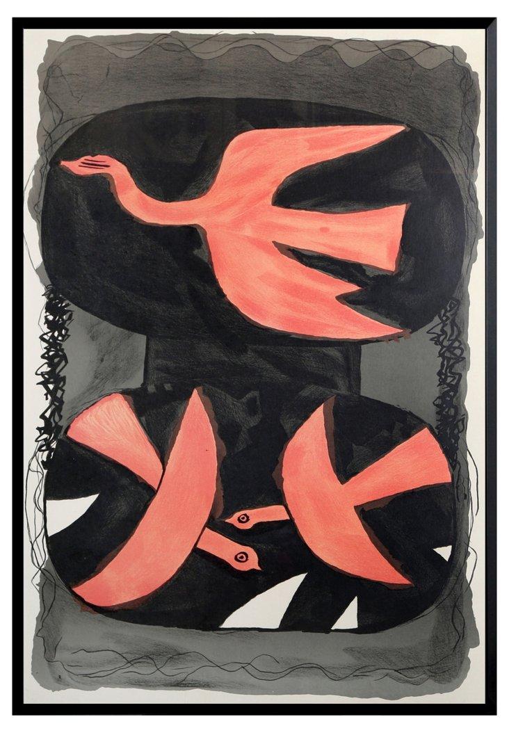 Georges Braque, Three Birds