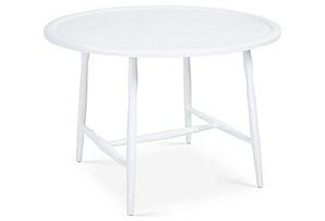 """19"""" Kieran Cocktail Table, White"""