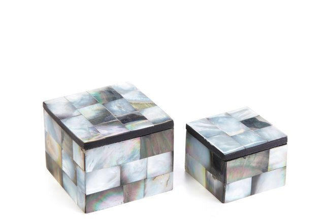 S/2 Shell Tile Tiny Boxes