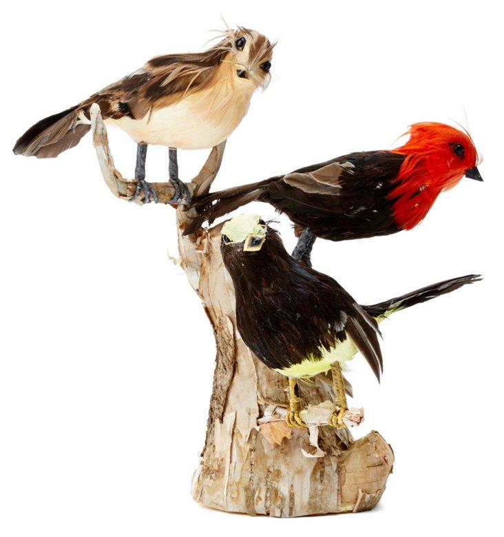 "10"" Birds on Branch Statue"