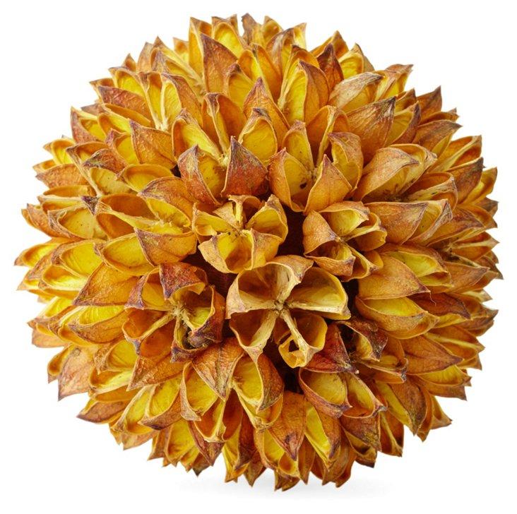 """S/2 4"""" Pod Flower Ball Dandelion"""