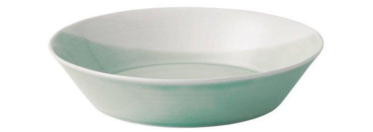 S/4 Pasta Bowls, Green