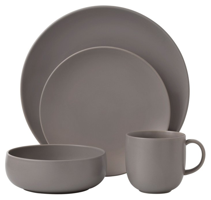 4-Pc Mode Place Setting, Stone