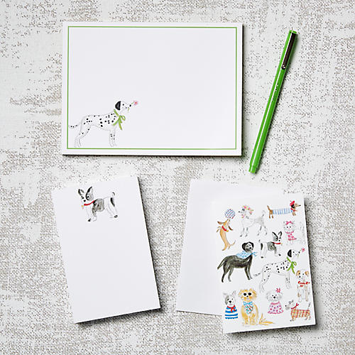 Asst. of 11 Dogs Stationery Set