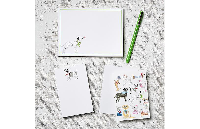Asst. of 11 Dogs Stationery Set
