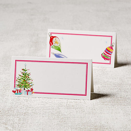 Asst. of 24 Holiday Place Cards