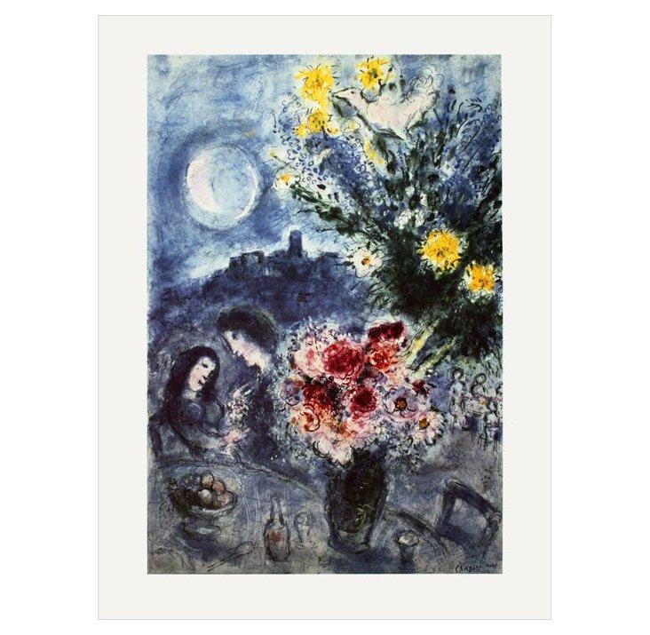 Chagall, Souvenir d'une Soirée