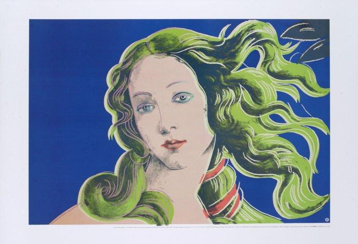 Andy Warhol, Purple Birth of Venus