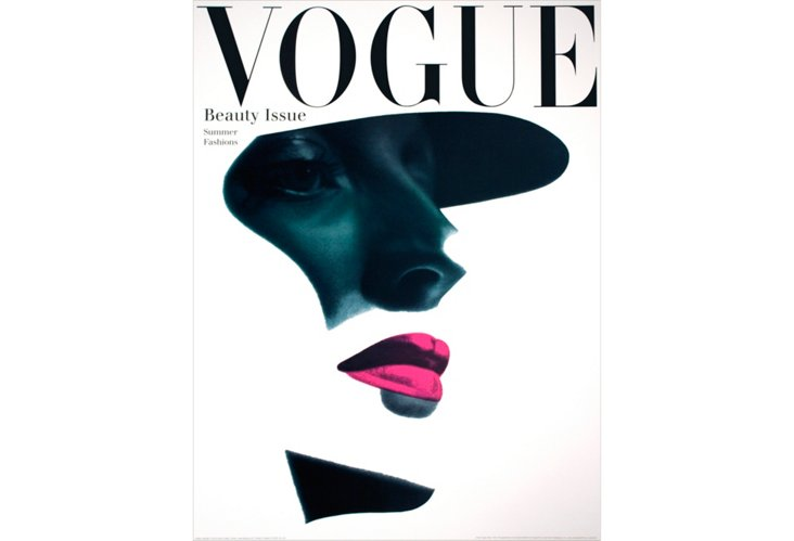Erwin Blumenfeld, Vogue Cover (May 1945)