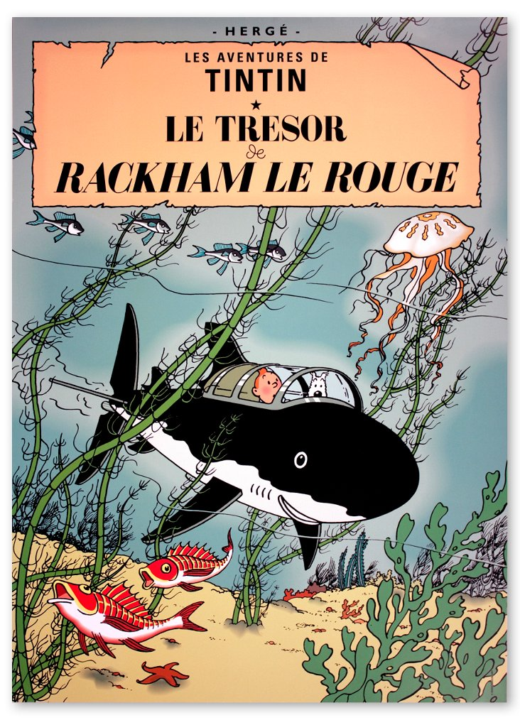 Les Aventures de Tintin: Le Tresor