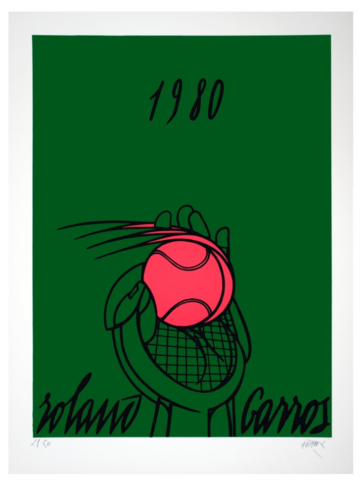 Roland Garros (Vert)-Signed