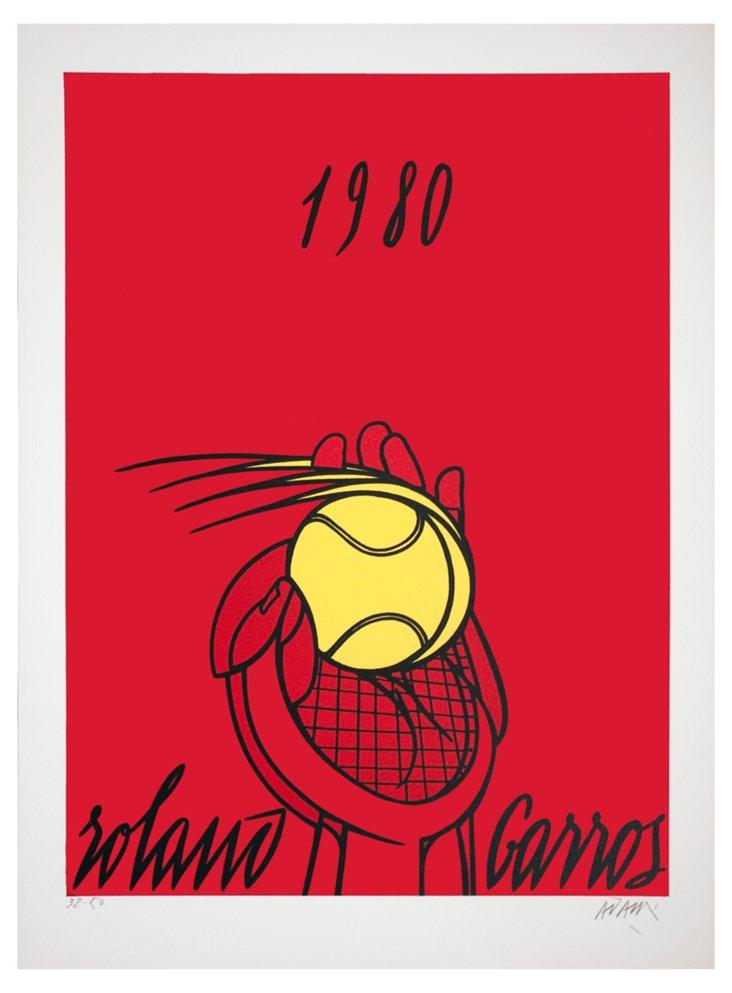 Roland Garros (Rouge)-Signed
