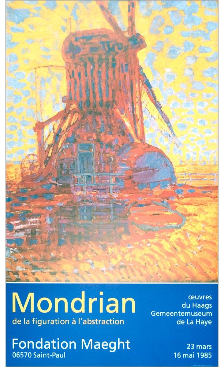 Piet Mondrian, Moulin Au Soleil