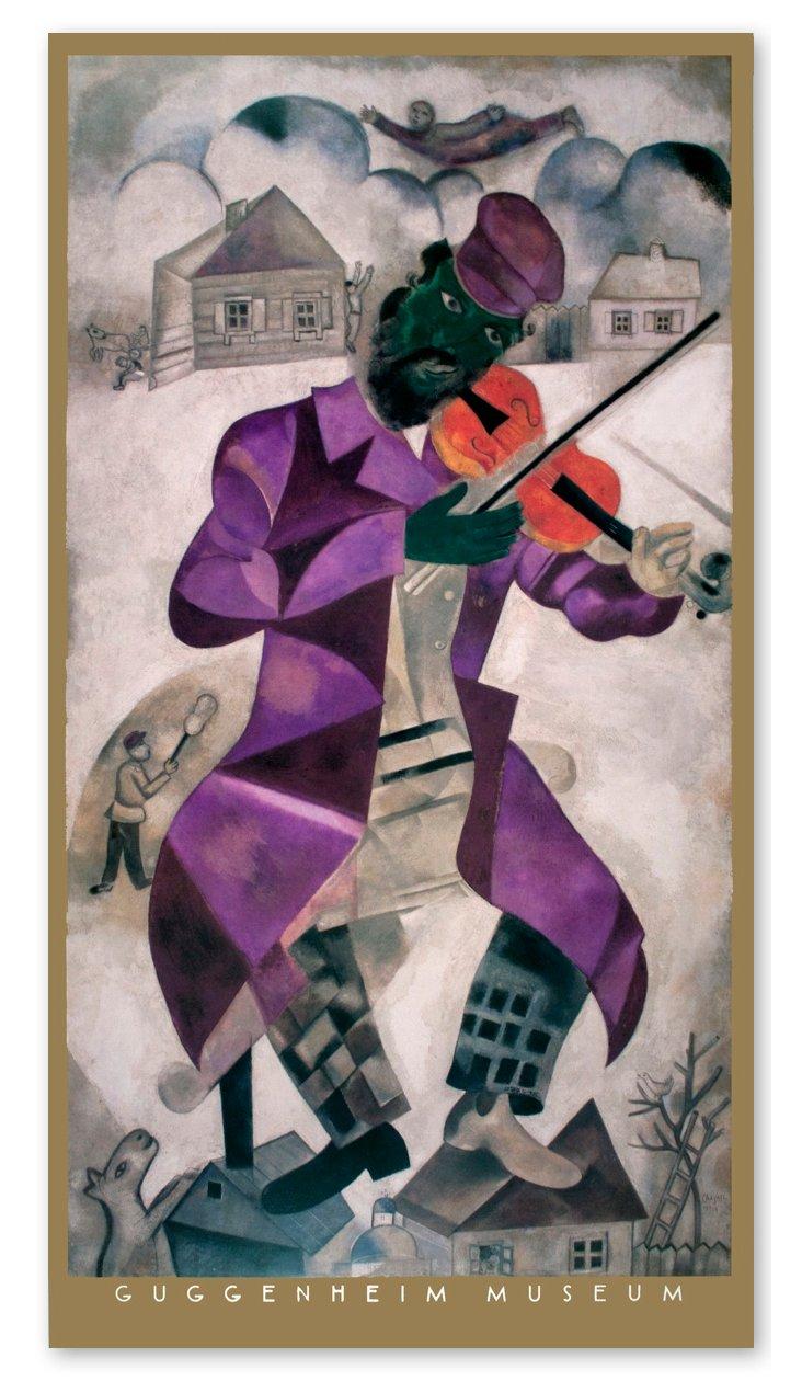 Marc Chagall, Green Violinist
