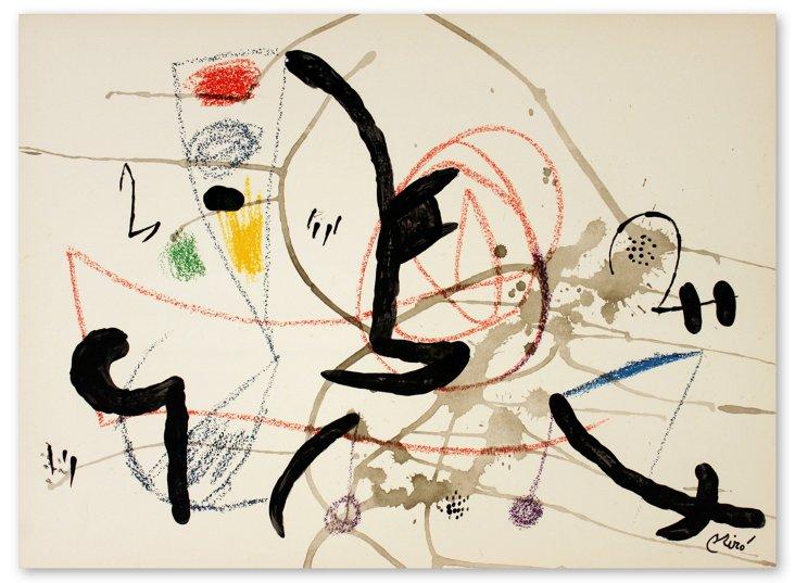 Joan Miro, Maravillas #1063