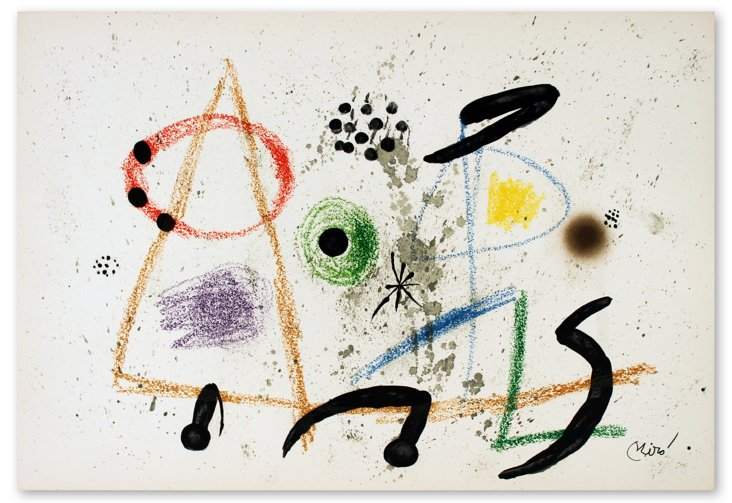 Joan Miro, Maravillas #1055