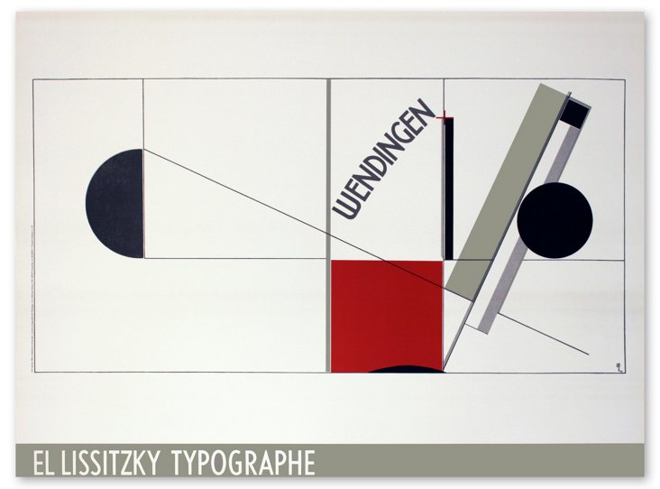 Lissitzky, Magazine Cover Design Twists