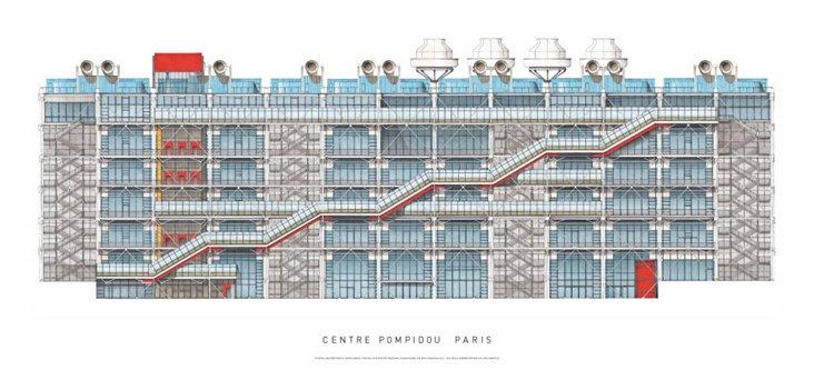 Piano, Centre Pompidou, Paris