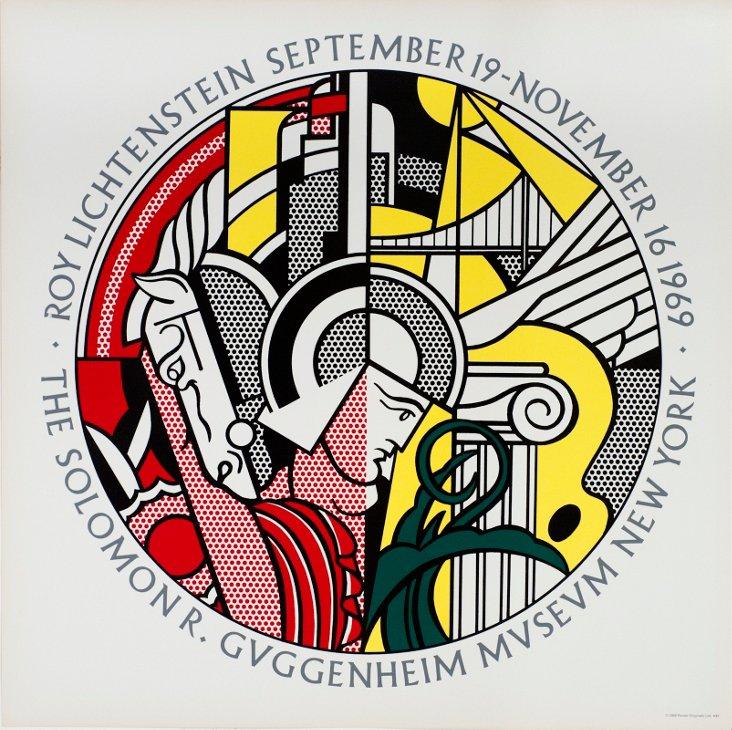 Roy Lichtenstein, Guggenheim Museum
