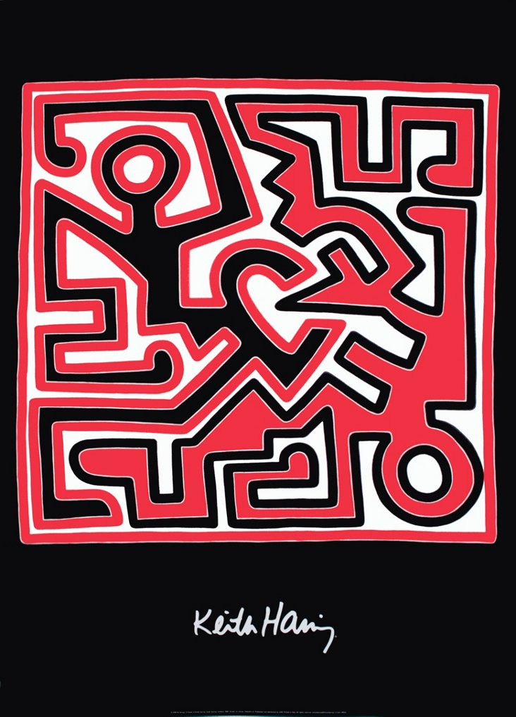 Keith Haring, Untitled (1988)
