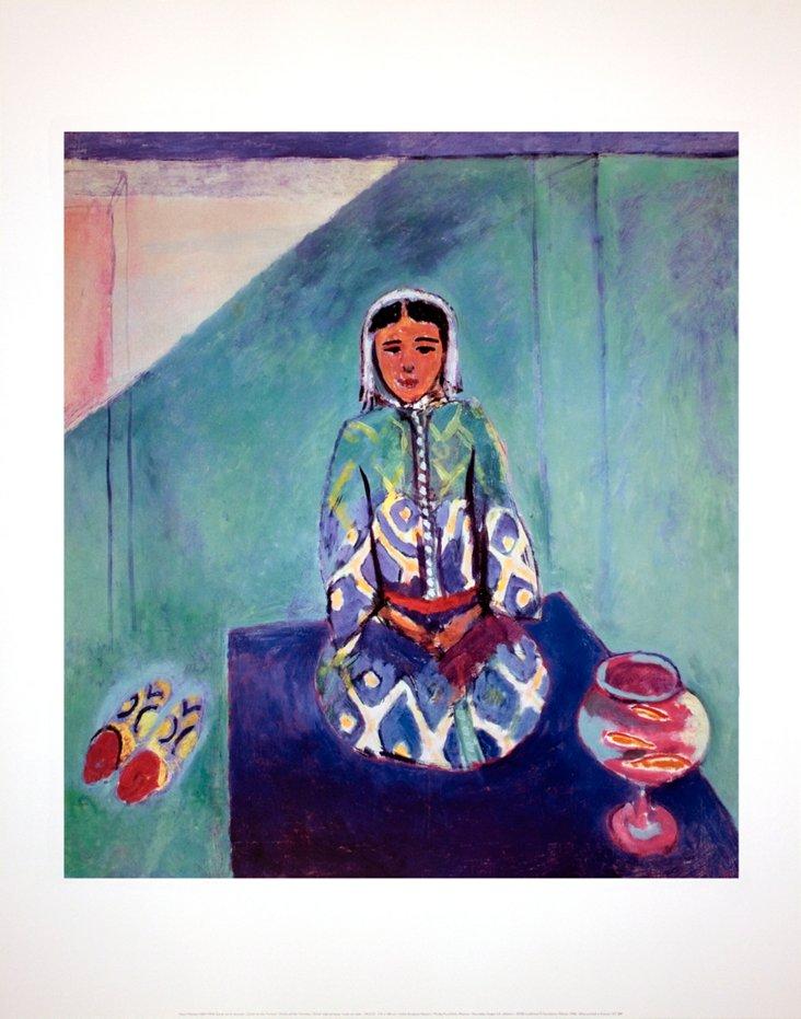 Henri Matisse, Zorah on the Terrace