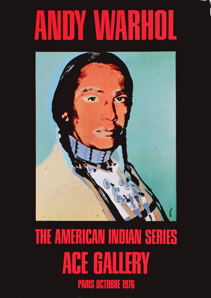 Andy Warhol, American Indian