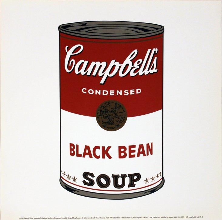 Andy Warhol, Black Bean Soup