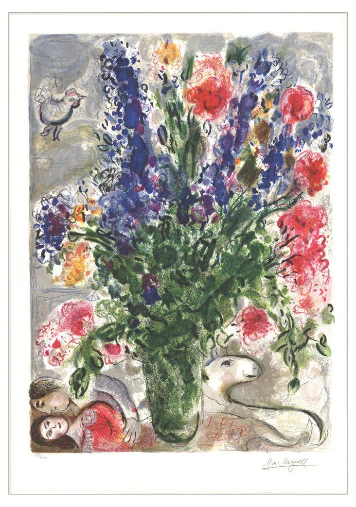 Marc Chagall, Les Lupins Bleus