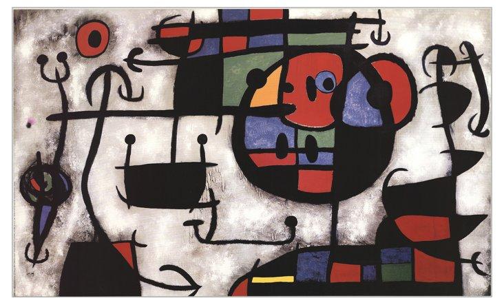Joan Miró, La Leçon de Ski