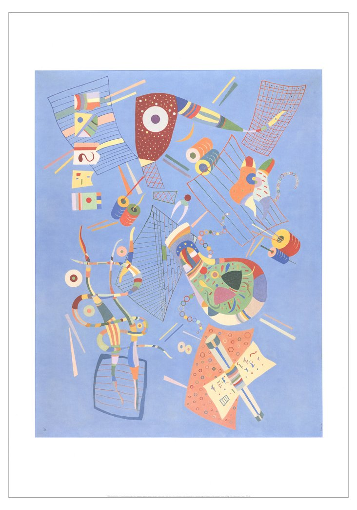 Wassily Kandinsky, Serenity