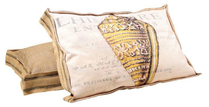 Gold Cone Multi Layer Pillow, No. 2