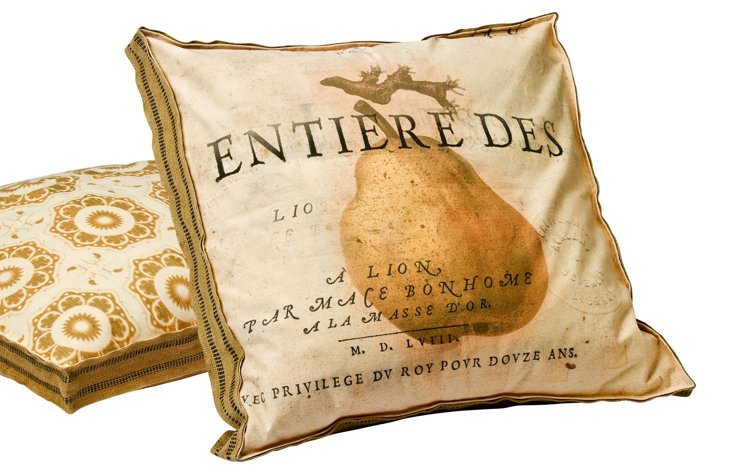 Pear No.1 Multi Layer Pillow