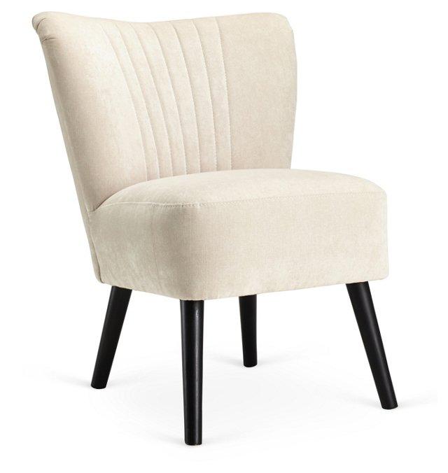 Benson Accent Chair, Cream