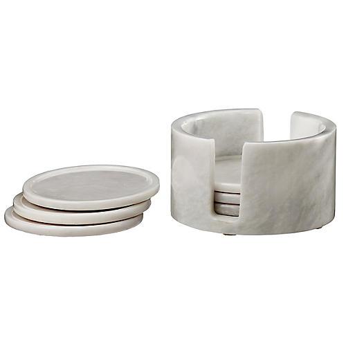 S/6 Traver Coasters, Pearl