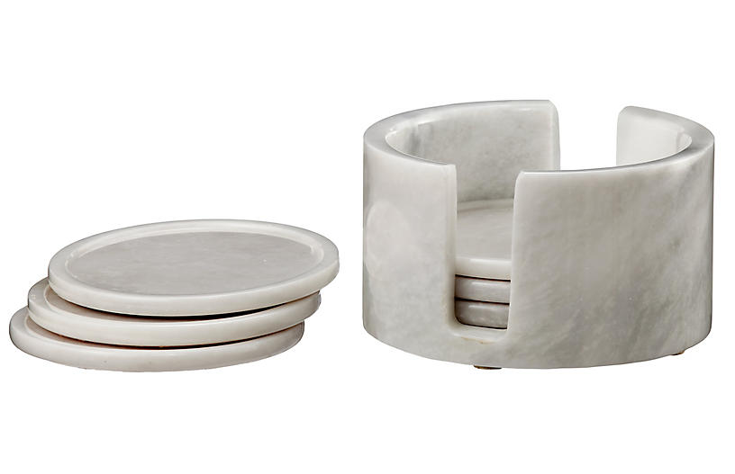 S/6 Traver Coasters, Pearl