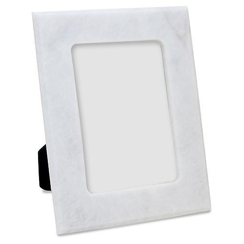 Mallet Frame, Pearl White