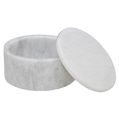 Rundell Keepsake Box, Pearl White