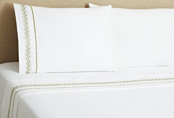 Fern Sheet Set, Green