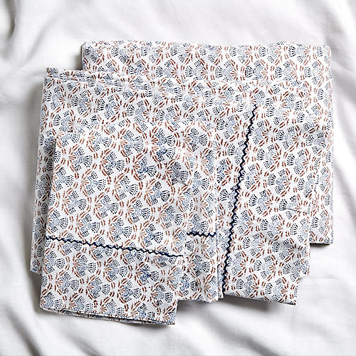 Alpin Sheet Set, Deep Navy