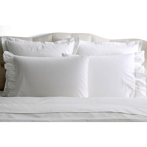 S/2 Liliput Pillowcases, White