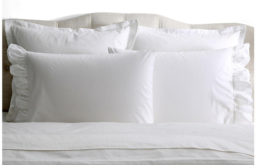 S/2 Liliput Pillowcases, White
