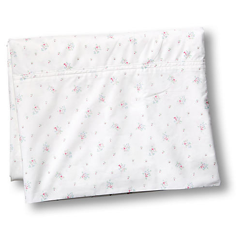Pearl Flat Sheet, White