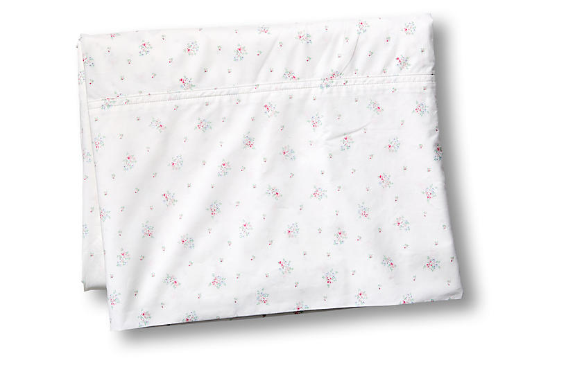 Pearl Flat Sheet, White