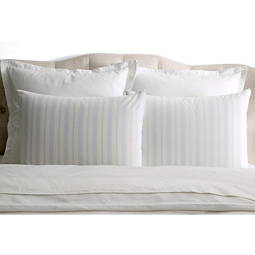 S/2 Westminster Pillowcases, Blue
