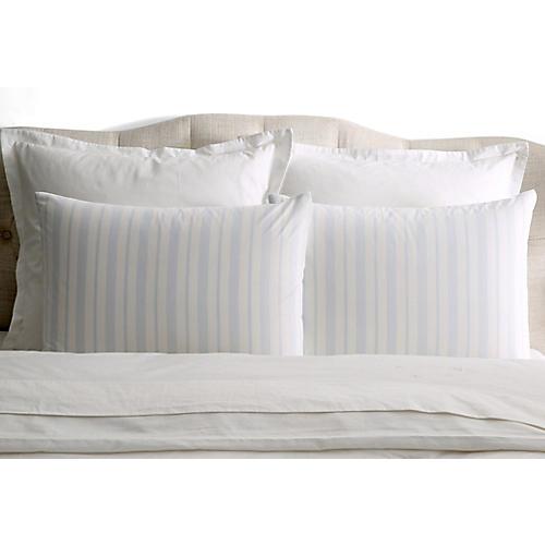 S/2 Westminster Pillowcases, Blue