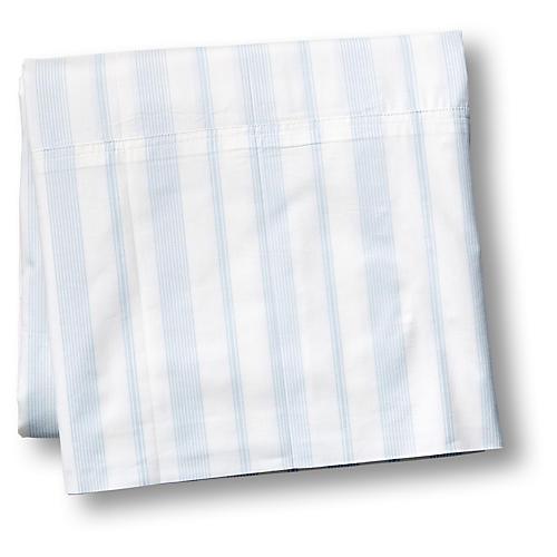 Westminster Flat Sheet, Blue