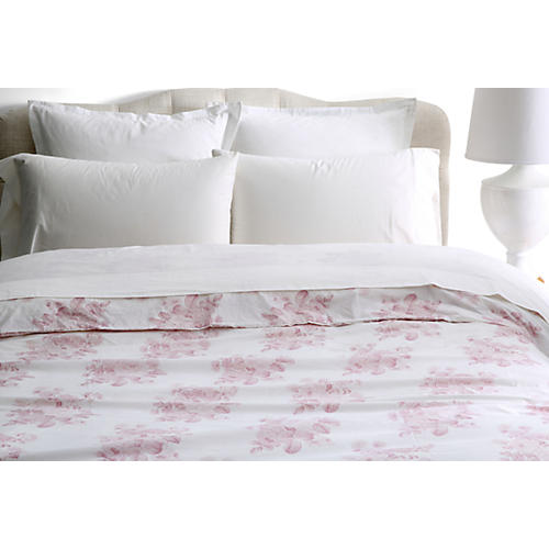 Shadow Rose Duvet, Pink