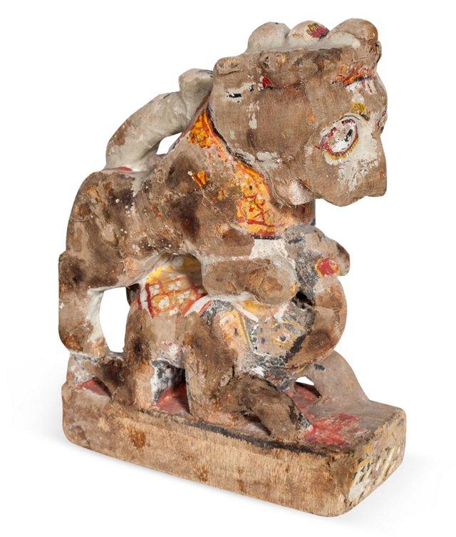 Lion Chariot Ornament II